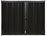 Accordion Shutters HT-100 Bronze