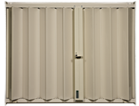 Accordion Shutters HT-100 Beige