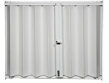 Accordion Shutters HT-100 White